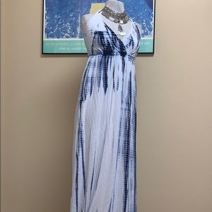 Boston proper halter maxi dress